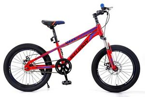 "Geekay Sturdy Steel  Kids Bikes  20"" with double disk brake colours available"