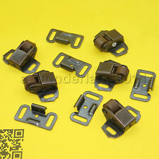 (5 Set ) Oil Rubbed Bronze Roller Catch Cabinet Door Latch For Closet / pantry