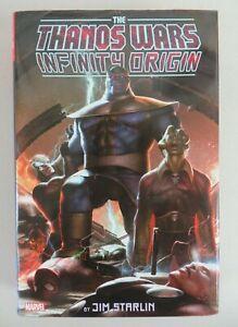 Thanos Wars Infinity Origin Omnibus (2019) Jim Starlin Iron Man Avengers Marvel