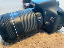 Canon Eos Rebel T3i 18.0Mp Digital Slr Camera w/Ef-S 18-135mm Lens, Lowepro Bag