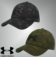 Unisex Under Armour Curved Peak Stitched Ventilation Eyelets Print Blitzing Cap