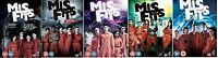 Misfits TV Series 1-5 Complete Channel 4 All 37 Episodes 12Disc New Region 2 DVD