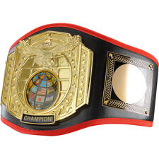 Title Boxing Gold-Plated Centerplate Leather Platinum Title Belt
