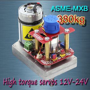 ASME -MXB High power high torque servo the 3600 Degree servo 12V~24V 380kg.cm