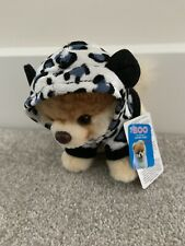Gund Boo The Dog 4050491 Itty Bitty Boo Grey Leopard Plush Toy New With Tag