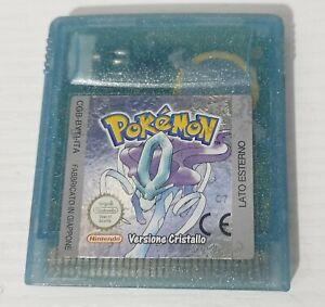 Pokemon Versione Cristallo ITA Nintendo Game Boy Color
