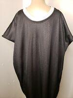Starter Men's Reversible Shirt Size 2XL 50 52 Silver Black Vintage Activewear