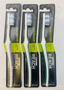 3 x Reach Toothbrush Listerine Interdental Firm (3 x Single Pack)