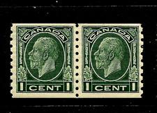 Canada ~ Scott #205 Pair ~ Mint-OG ~ Fresh
