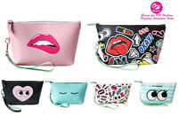 OH Fashion Cosmetic Bag Women Travel Bag Makeup Bag Clutch Bag Vanity Case Eyes
