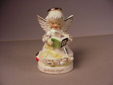 1950's Napco Angel ceramic figurine September month figure vintage calendar