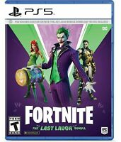 Fortnite The Last Laugh Bundle PlayStation 5 PS5 Brand New Sealed