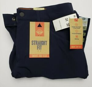 NWT DOCKERS SMART 360 TECH STRAIGHT FIT PEMBROKE BLUE PANTS 31 x 32