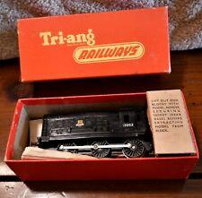 Tri-ang Railways #R.152 0-6-0 Black 13002 Diesel Switcher Powered - Pre-owned