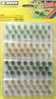 NOCH 07004, 92 Stück, 12 mm Grasbüschel XL beige + grün, Neu