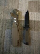 Gerber StrongArm Fixed Blade Knife Coyote Parr Ser New!