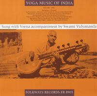 Swami Vidy-Ananda - Yoga Music of India, Vol. 1 [New CD]