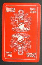 1 x Joker playing card single swap British Airways Airlines First class AT593