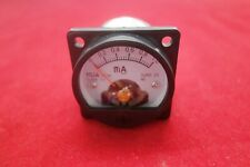 1pc Dc 0 1ma Analog Ammeter Panel Amp Current Meter So45 Directly Connect