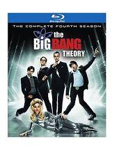 The Big Bang Theory ~ Complete 4th Fourth Season 4 Four ~ BRAND NEW BLU-RAY SET