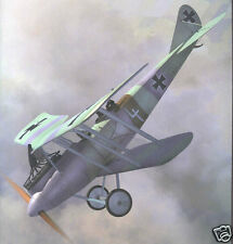 "Model Airplane Plans (Ff): Rumpler C.V Scale 40"" Ww-I Biplane for 1cc (1/2A)"