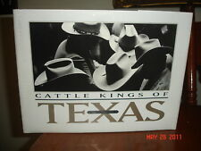 SIGNED CATTLE KINGS OF TEXAS MALOUF HISTORY RANCHES