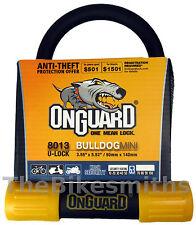"""OnGuard Bulldog Mini LS 8014 U-lock Bike 2X Locking 3.5/"""" x 9.4 fit Kryptonite"""