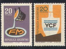 ARGENTINA 1968 Carbone/acciaio/miniera/Iron/Minerali/Industria/Commercio Set 2v (n26718)