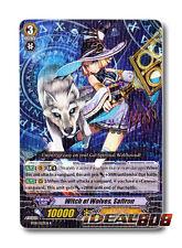 Cardfight Vanguard  x 4 Witch of Wolves, Saffron - BT10/027EN - R Mint