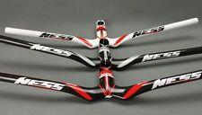 NESS Carbon 3K MTB Road Bike riser Handlebar 580-720 Integrated Bar Stem 90-120