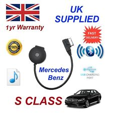 For Mercedes S Class Bluetooth Streaming USB Charge & stick Cable MB-MMI-BT001