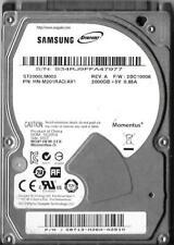 Samsung ST2000LM003 2TB Sata Hard Drive P/N: HN-M201RAD/AV1 F/W: 2BC10006