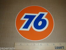 "Union 76 gas station Gasoline Oil decal sticker 6.5"" inch round original Unocal"