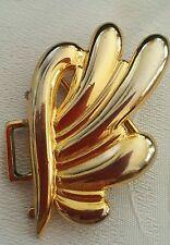 Vintage Paquette gold belt buckle half of a set AS IS J142