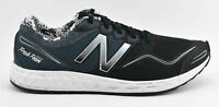 MENS NEW BALANCE FRESH FOAM ZANTE RUNNING SHOES SIZE 11.5 BLACK NAVY BLUE WHITE