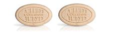 NIP L'Occitane Almond Delicious Soaps (2) x 1.7oz = 3.4oz !!