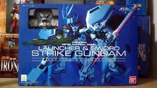 Launcher & Sword Strike Gundam   Bandai Chogokin MISB  Shipping Free~ Airmail