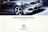 3301MB Mercedes SLK Zubehör Prospekt 2004 3/04 brochure accessories accessoires