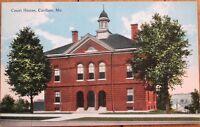 Caribou, ME 1910 Postcard - 'The Court House' - Maine