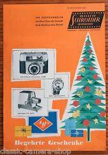 Commercianti prospetto AGFA telecamere SILETTE colorflex isola AMBIFLEX OPTIMA * RAR (x2945