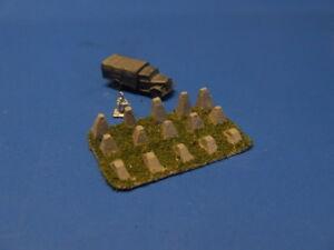NEU - Drachenzähne, WK 2, Maßstab - 6mm (1:285/300)