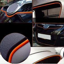 5M Orange AUTO ACCESSORIES CAR Interior Decorative Strip CHROME Shiny Universal