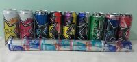 All Collectable UK Energy Drink Cans- Red Bull,Monster,Rockstar,Limited Edition