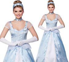 Cinders Costume Adult Ladies Fairytale Cinderella Princess Fancy Dress UK 6-24