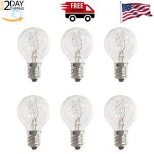G30 Wax Warmer Bulbs, 20 Watt Bulbs for Middle Size Scentsy Light Bulbs 6Pack