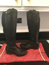 ARIAT VOLANT TALL FRONT ZIP LADIES RIDING BOOT Size 4
