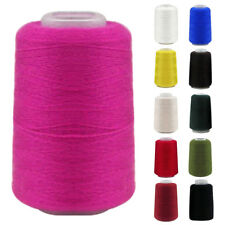 Cool 2 Ply Cashmere Wool Yarn Cone Shape Clothes Hand Machine Sewing Yarn Soft