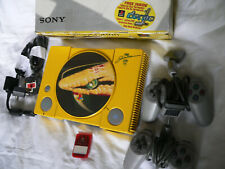 THE RAREST PLAYSTATION 1 CONSOLE IN THE WORLD FORMULA 1 Team Jordan PS1 GWO