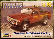 1980 Datsun 720 off road pickup, 1:24, Revell 4321 nuevo otra vez 2015 nuevo otra vez