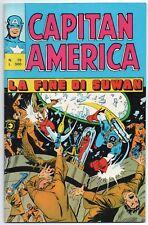 CAPITAN AMERICA editoriale corno N.79 LA FINE DI SUWAN luke cage power man 1976